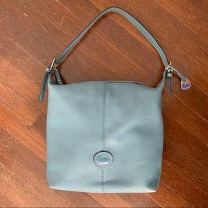 Rare Periwinkle Dooney & Bourke AWL satchel bag